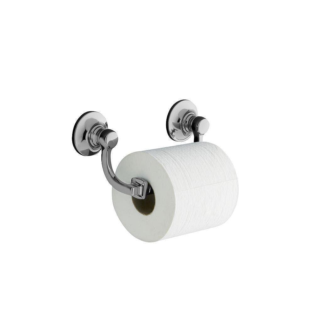 KOHLER Porte-papier de toilette Bancroft à double poteau en chrome poli