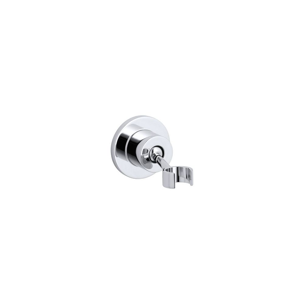 KOHLER Stillness Adjustable Wall-Mount Bracket in Polished Chrome