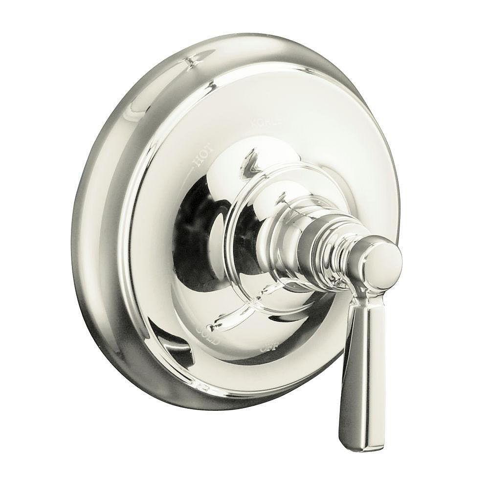 KOHLER Garniture de valve à régulation de pression Bancroft(R) Rite-Temp(TM) avec la poignée à levier en métal