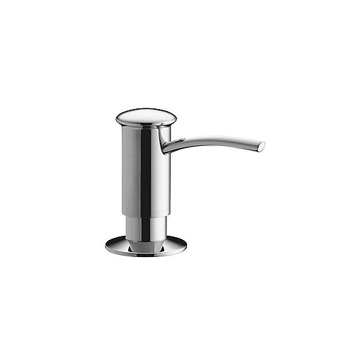 KOHLER Contemporary Design Soap/Lotion Dispenser in Polished Chrome