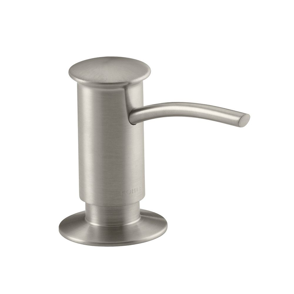 KOHLER Contemporary Design Soap/Lotion Dispenser in Vibrant Brushed Nickel