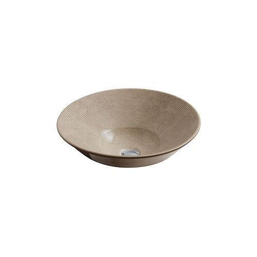 Conical Bell(R) vessel or wall-mount bathroom sink