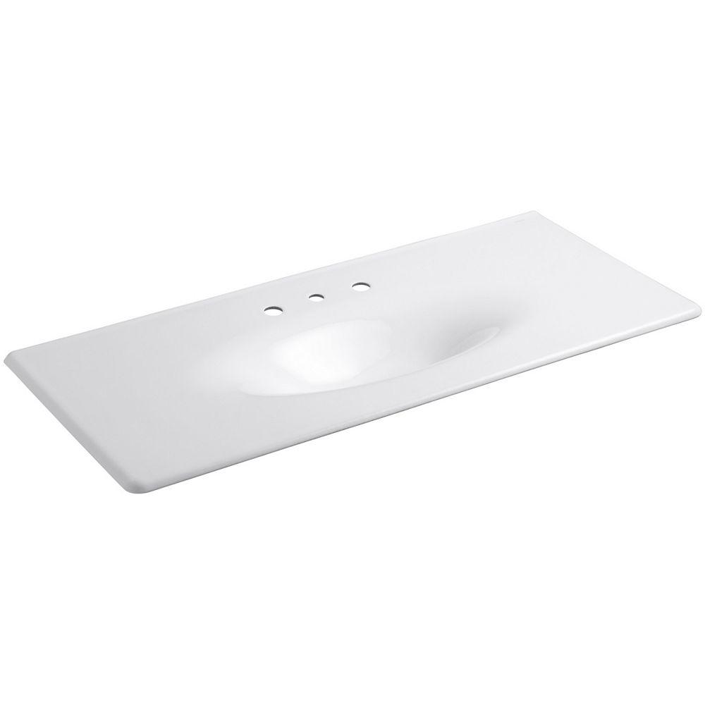 KOHLER Iron/Impressions(R) 49 inch vanity-top bathroom ...