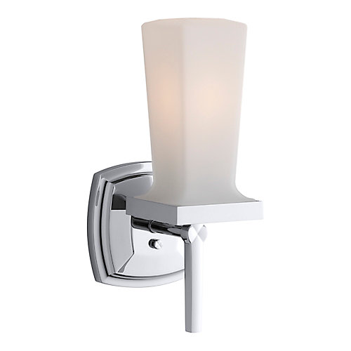 Margaux Single Wall Sconce in Polished Chrome