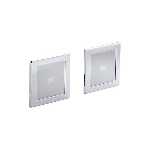 Soundtile Speakers (Pair Of Speakers) in Polished Chrome