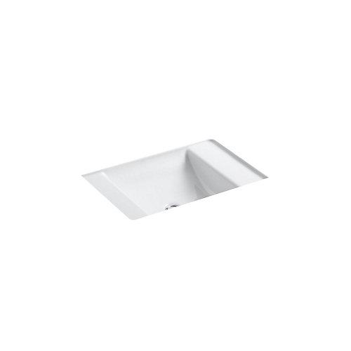 Ledges(R) under-mount bathroom sink
