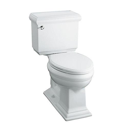 Memoirs 2-piece Dual Flush Elongated Bowl Toilet in White