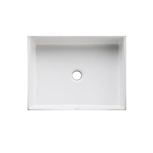 Lavabo de salle de bain en sous-surface Verticyl rectangulaire