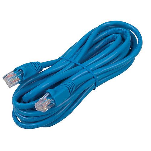 (234847)14 ft Cat5e Patch Cable Blue