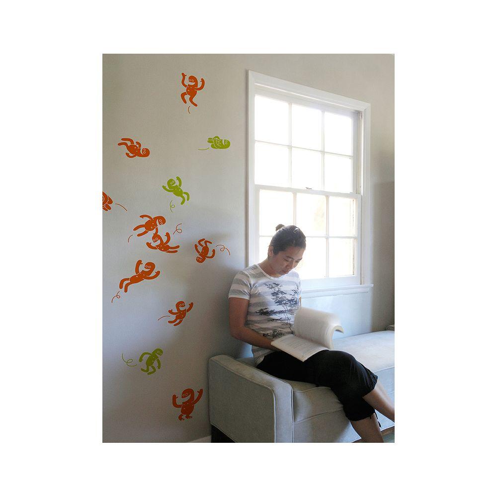 Blik Décalcomanies à motifs d'acrobates par Zeptonn - Tangerine