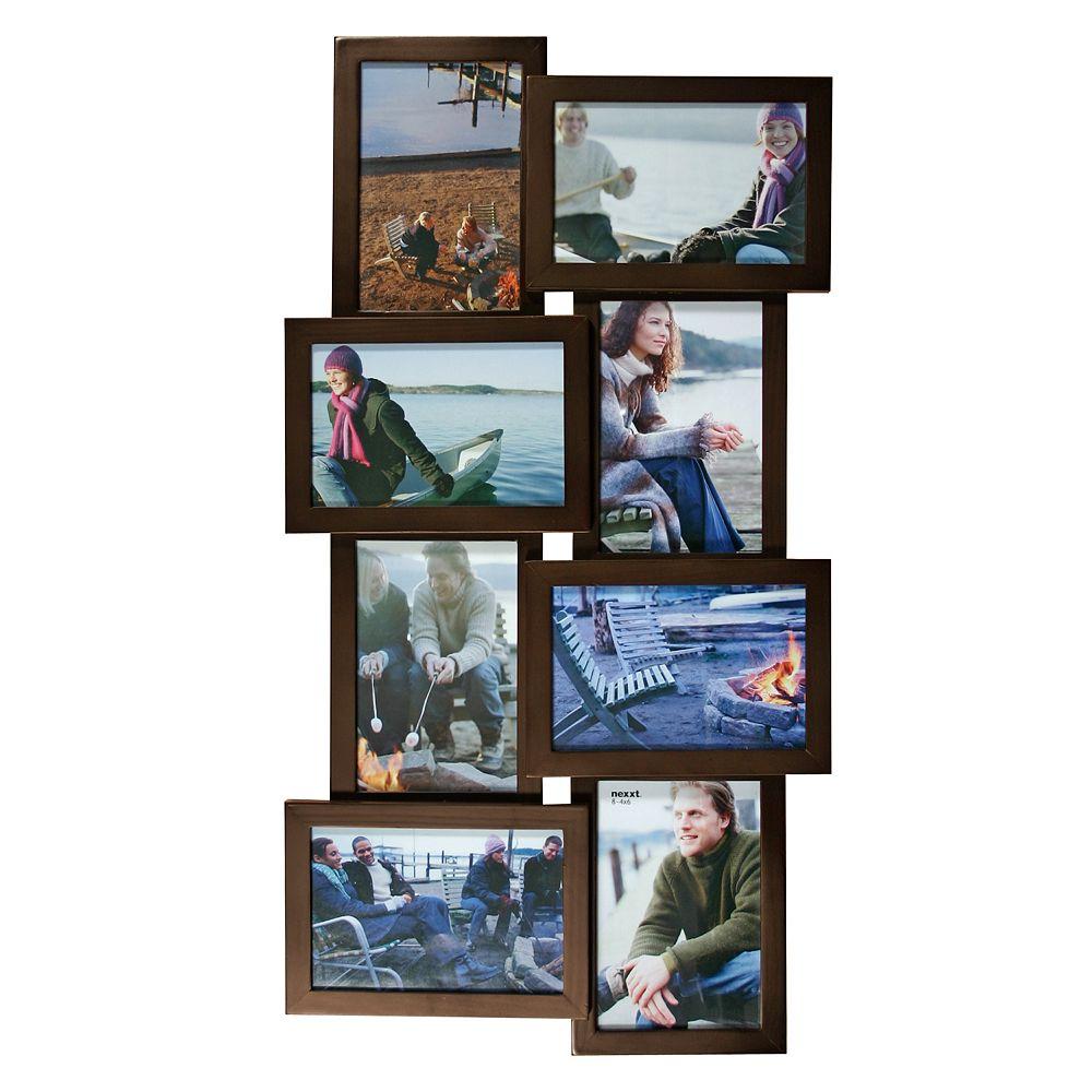 nexxt Cadre pour montage photo Array (8 photos), Java
