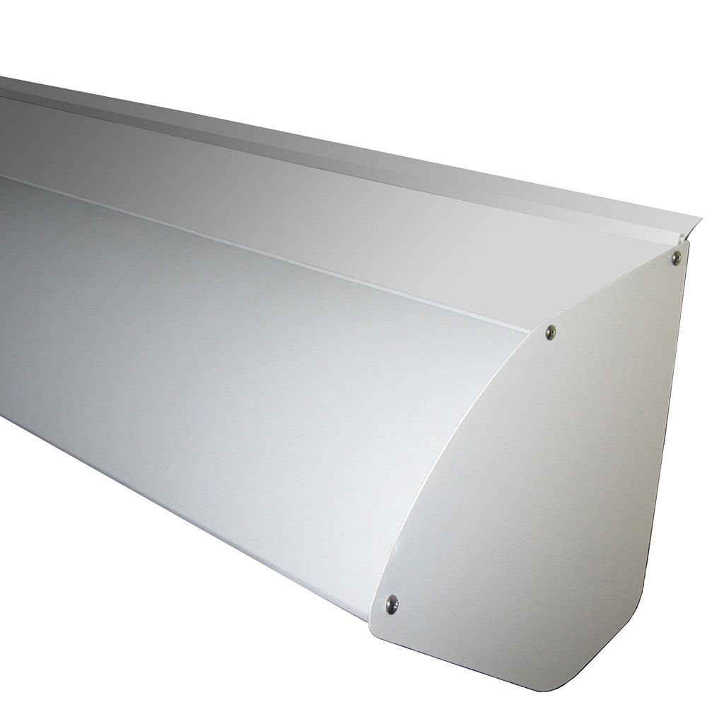 Rolltec Protective Aluminum Hood for 12 ft. Wide Retractable Awning