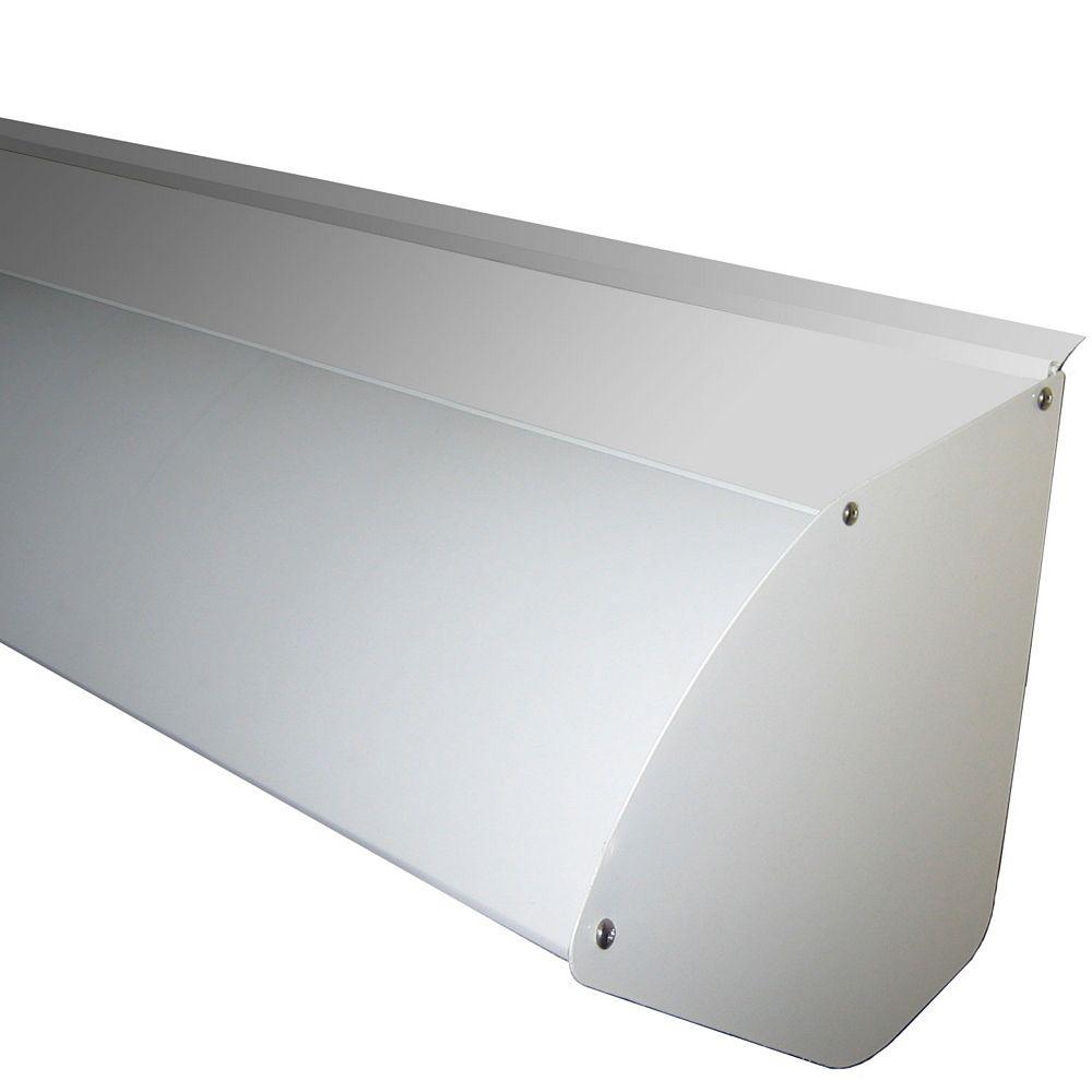 Rolltec Capot de protection en aluminium pour auvent rétractable de 12 pieds de largeur
