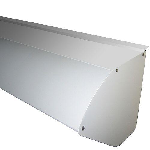 Capot de protection en aluminium pour auvent rétractable de 12 pieds de largeur