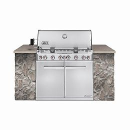 Summit S-660 Built-In Gas BBQ