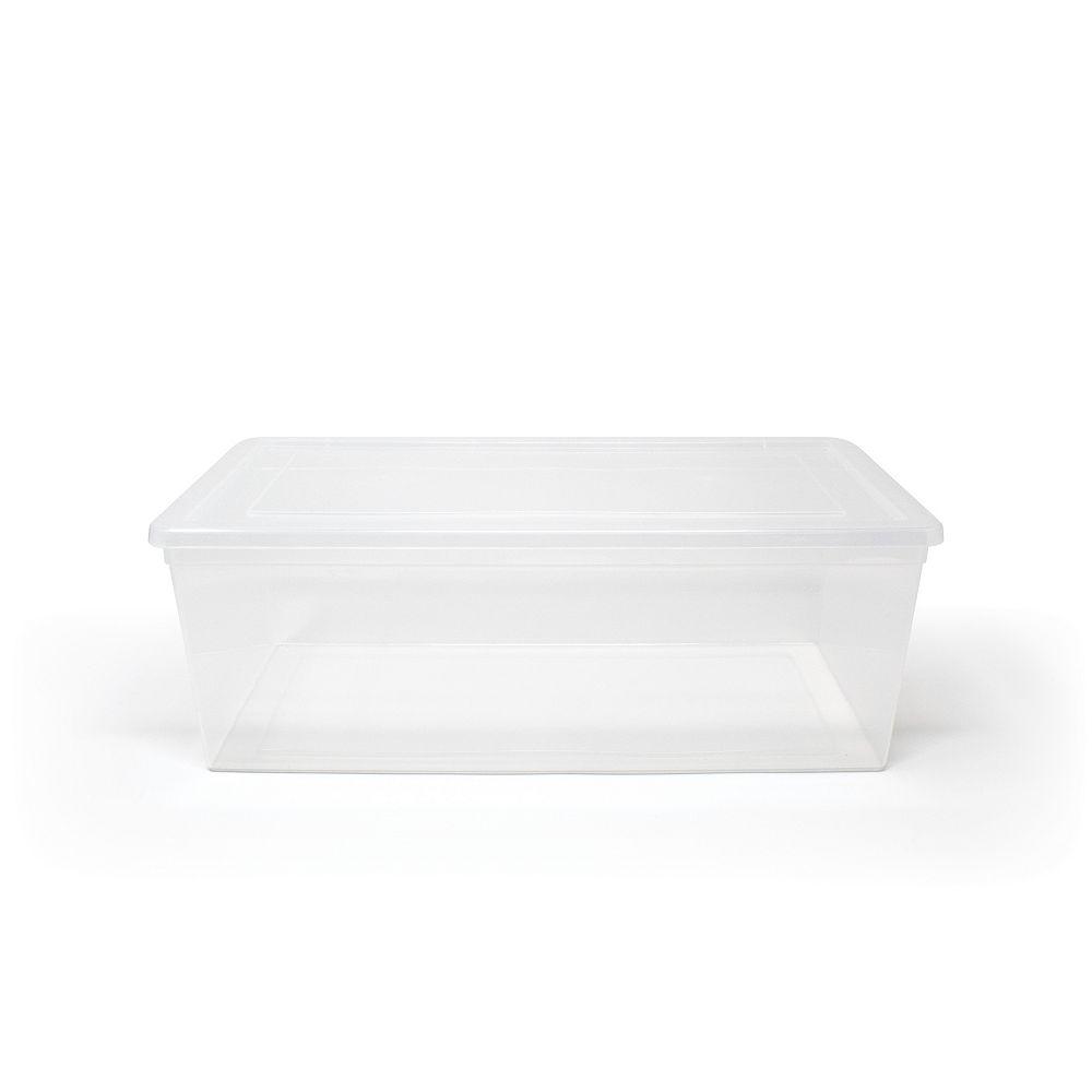 Tuff Store Clear Shoe Box