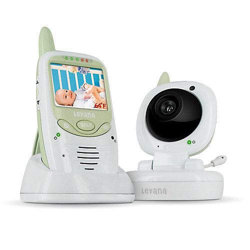 Moniteur vidéo numérique pour bébé NSee Safe NSee avec interphone conversation-bébé et commande de berceuse