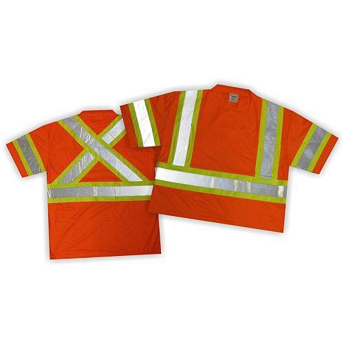 Chemise de circulation W/ Stripes,Taille L