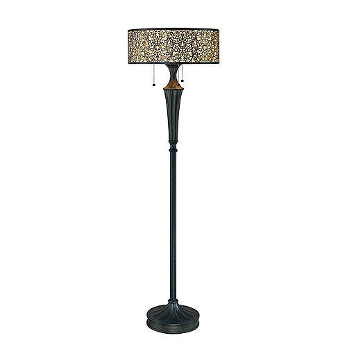 Lampe sur Pied à 3 Lumières, Collection Melosa