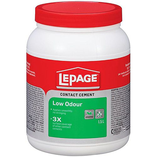 LePage Low Odour Contact Cement 1.5L