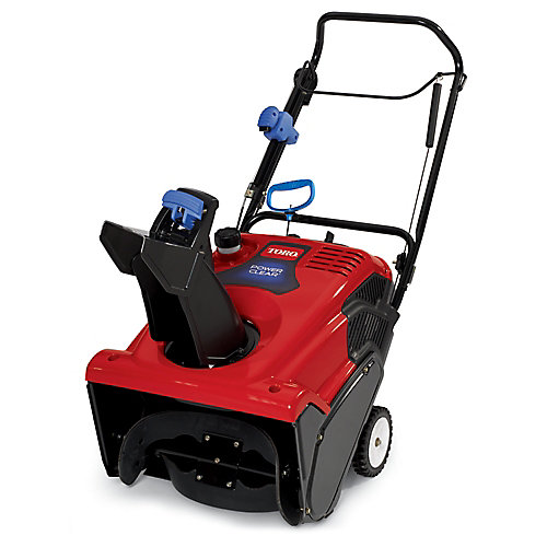Power Clear 621QZE Single-Stage Snow Blower with 21-Inch Clearing Width