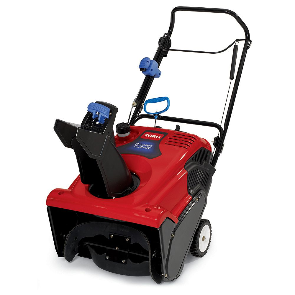Toro Power Clear 621QZE Single-Stage Snowblower with 21-Inch Clearing Width