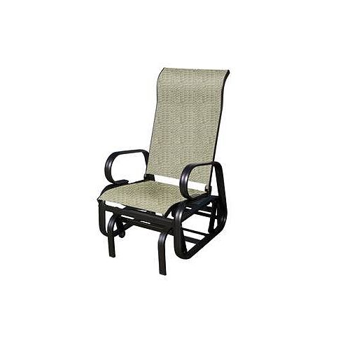 Bahia Aluminium Rocking Chair in Mocha