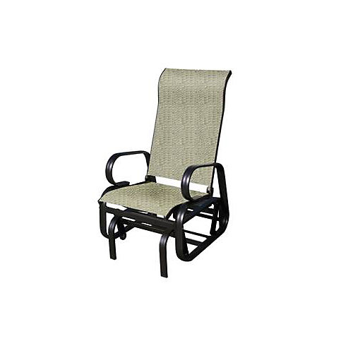 Bahia Aluminium Rocking Chair in Mocha