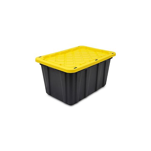 102L Strong Box Tote in Black/Yellow