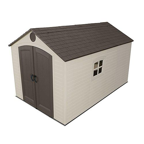 8 ft. x 12.5 ft. Storage Shed