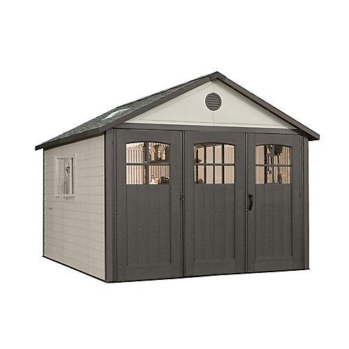 11 ft. x 18 1/2 ft. Carriage Door Building