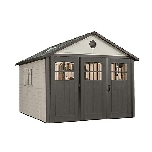 11 ft. x 21 ft. Storage Building with 9 ft. Wide Carriage Door