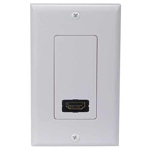 HDMI Wall Plate - Single Outlet