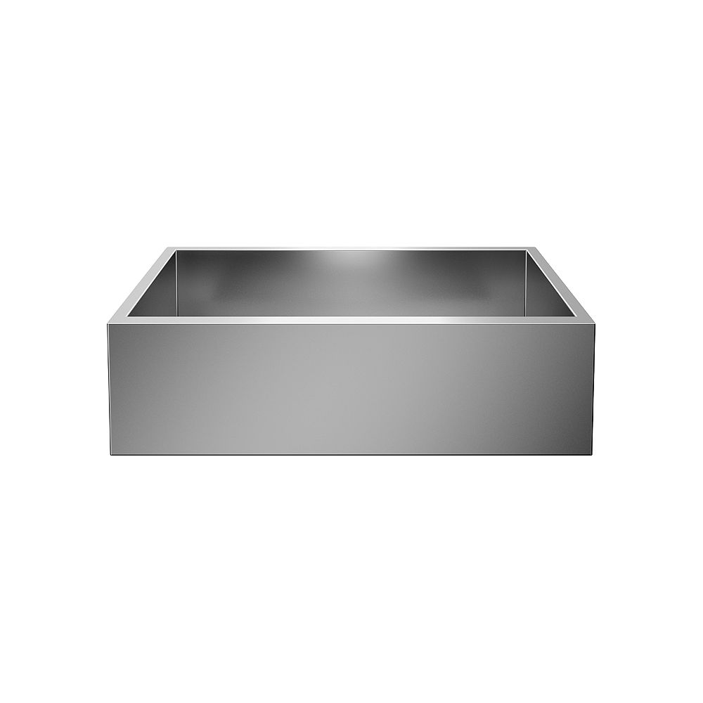Blanco PRECISION U SUPER SINGLE, Large Undermount Kitchen Sink, Premium Stainless Steel