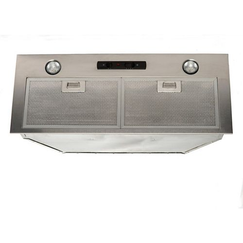 Cyclone 34-inch Range Hood Insert in Stainless Steel