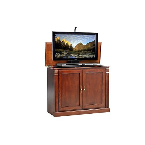 Annie TV Lift Cabinet - Antique Brown