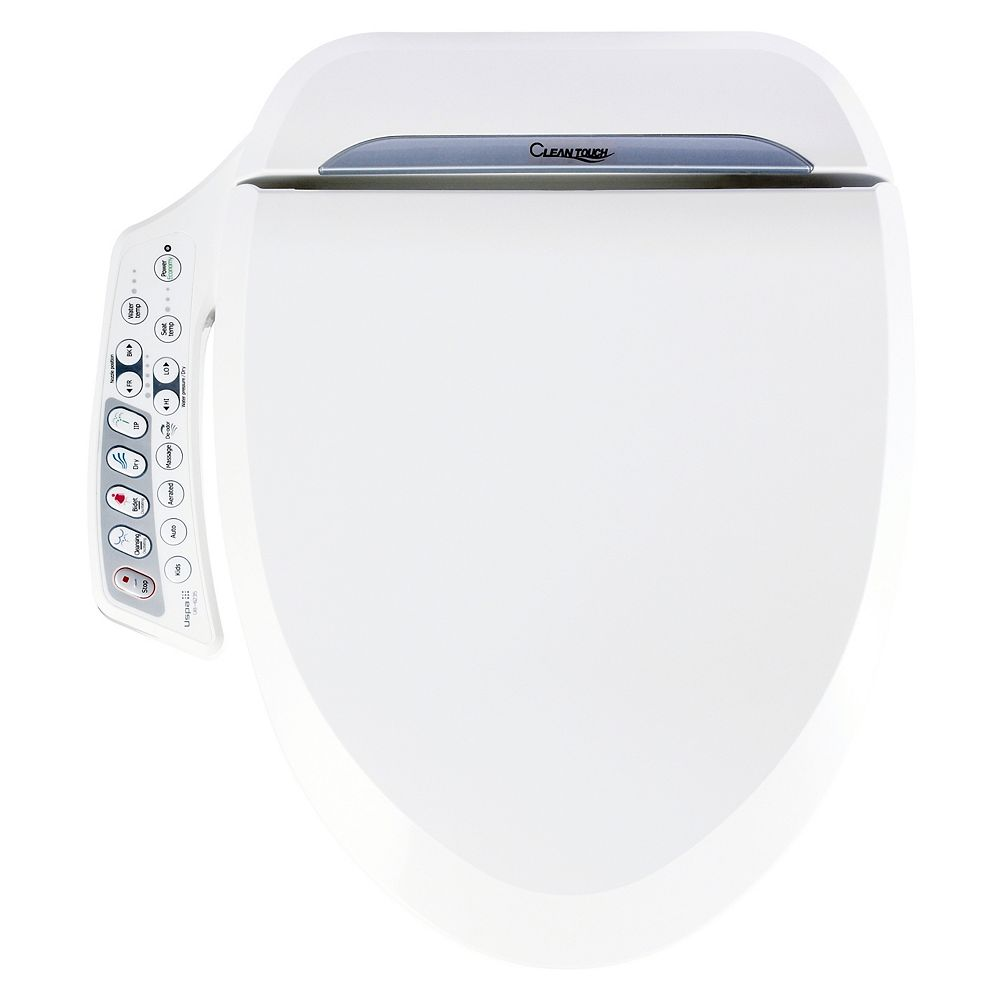 Clean Touch UB-6235 Bidet Seat High Pressure Aeration Technology (SMALL) [2-Year Canadian Warranty]