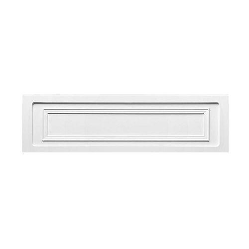 Antigua 72L x 42W x 22H Acrylic Bathtub Apron in White