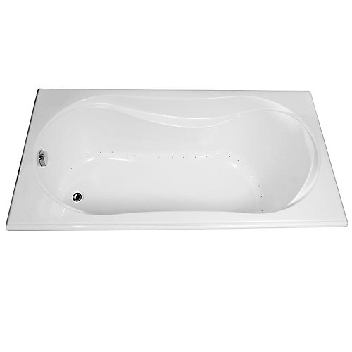 Cocoon Acrylic Aerosens Bathtub in White