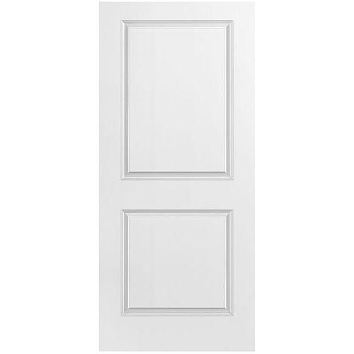36-inch x 80-inch 2 Panel Smooth Door Slab