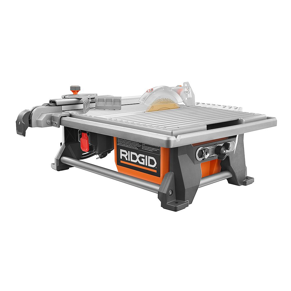 RIDGID 120V 7-Inch Table Top Wet Tile Saw