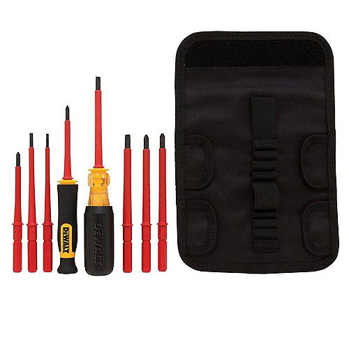 Vinyl Grip Insulated Screwdriver Set (10-Piece)