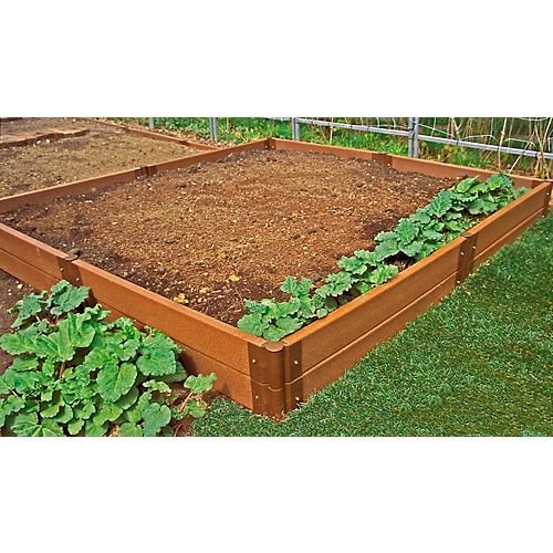 Frame It All 8 ft. x 8 ft. x 12-inch Raised Garden