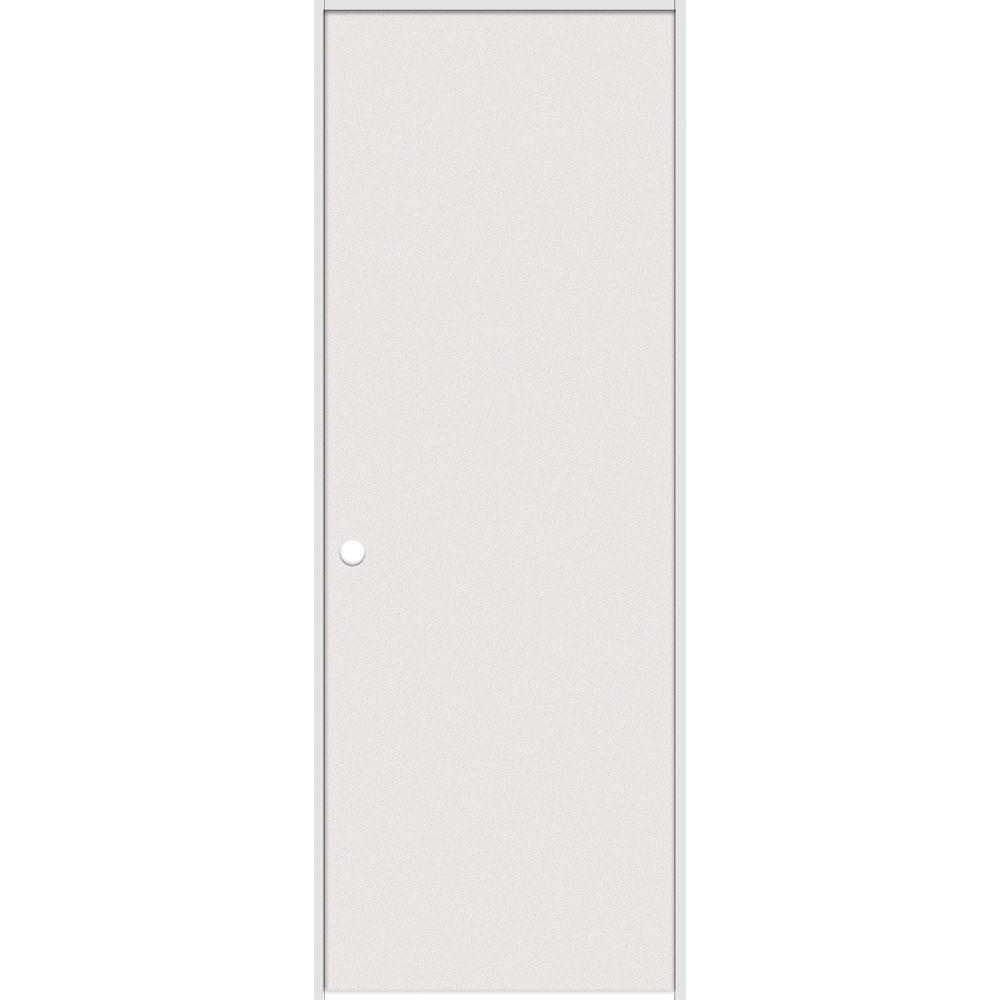 Masonite Porte intérieure prémontée rigide apprêté  avec rabbeted jamb 24 pouces x 80 pouces ouverture droite