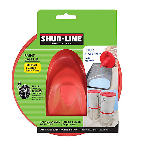 Pour & Store - Paint Can Lid with Spout