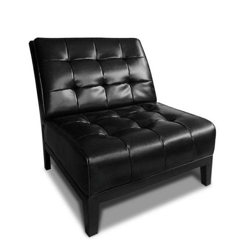 Oxford Bicast Leather Chair