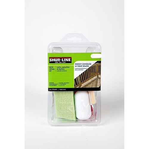 Shur-Line Deck Staining Detail Kit