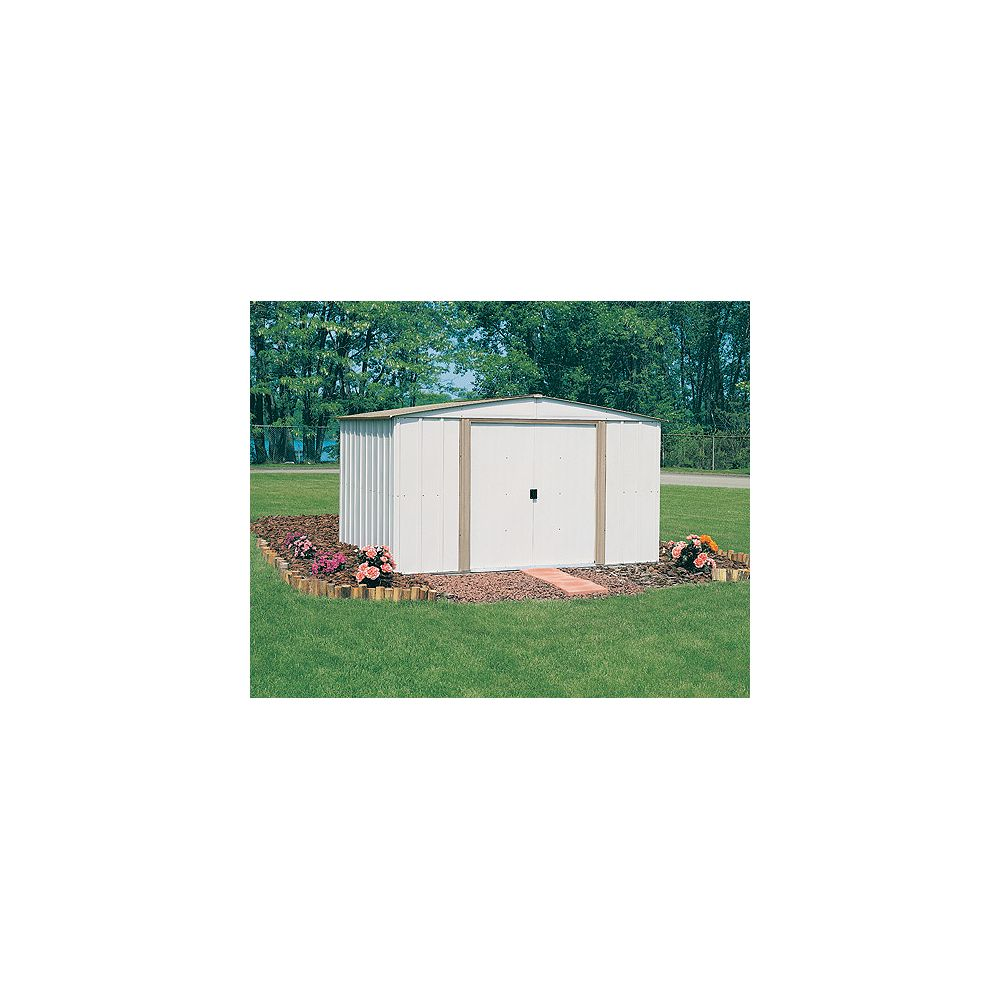 Spacemaker Low-Gable Metal Shed   (10 Ft. x 8 Ft.)