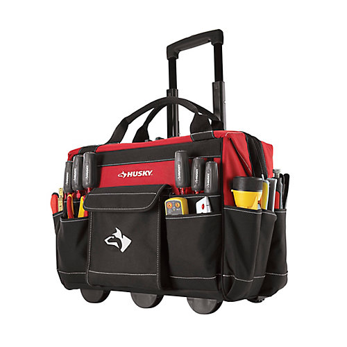 18-inch Rolling Tool Tote