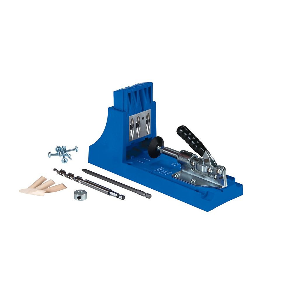 Kreg Tool Company K4 Pocket-Hole Jig with Drill/Driver Bits